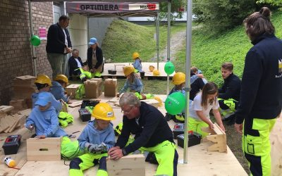 Se bilder fra Byggeskolen i Asker