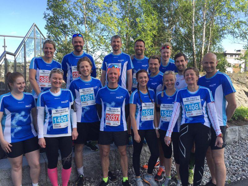 Sportye NCCere deltok på årets Fornebuløp.