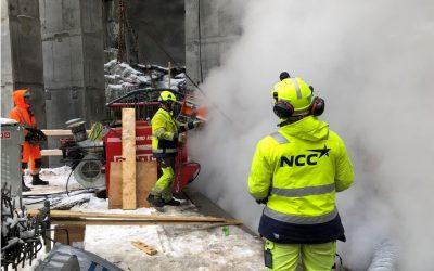 NCC deltar i stiftelsen Samarbeid for sikkerhet i Bygg og Anlegg