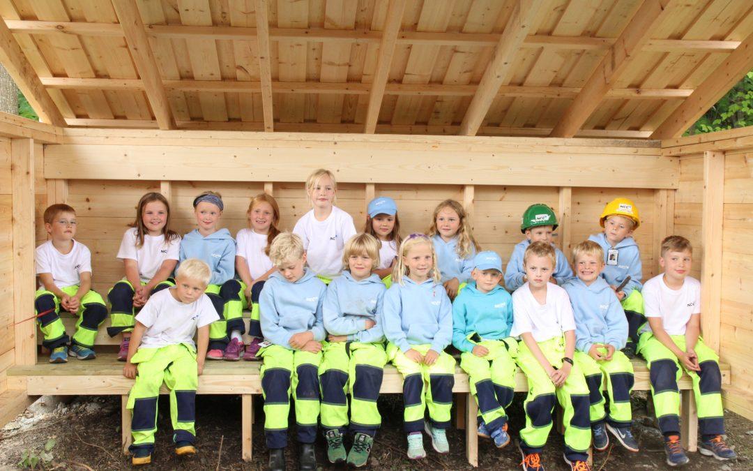 Jubalong-avslutning på Byggeskolen i Asker