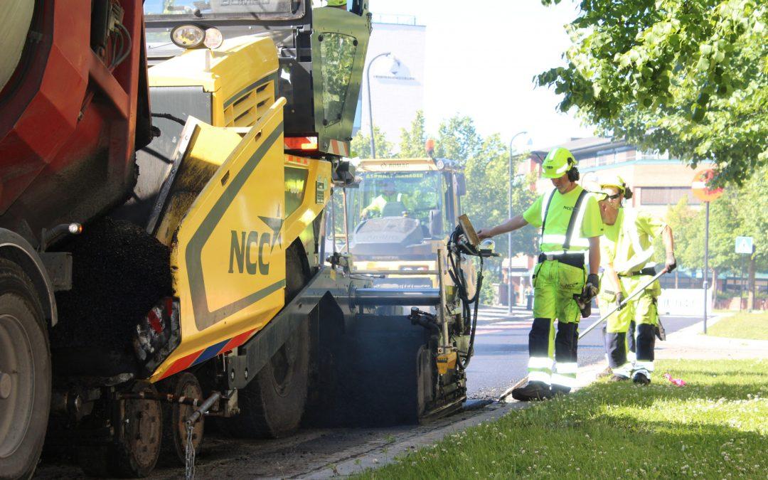 Slik får vi lavere Co2-utslipp fra asfaltproduksjonen