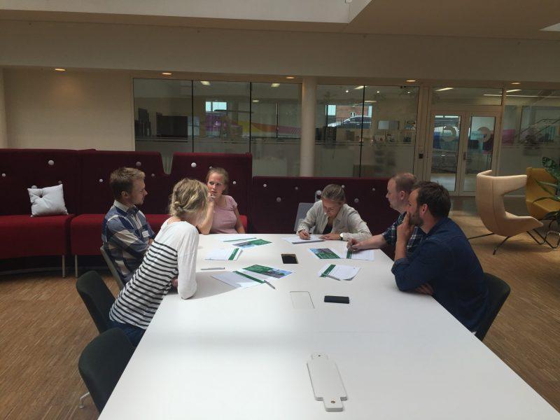 Det var mange meninger og løsningsforslag som kom fra under workshopen med Emelie Henningsen.