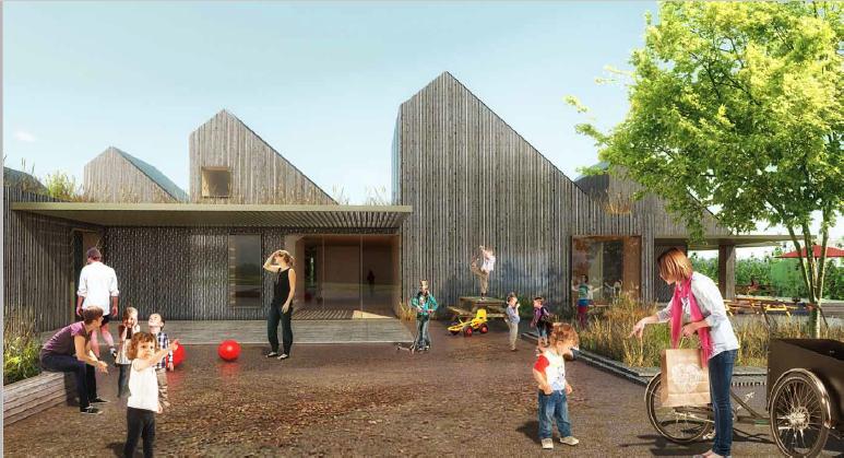 Illustrasjon: Christensen & Co Arkitekter, Solbyen