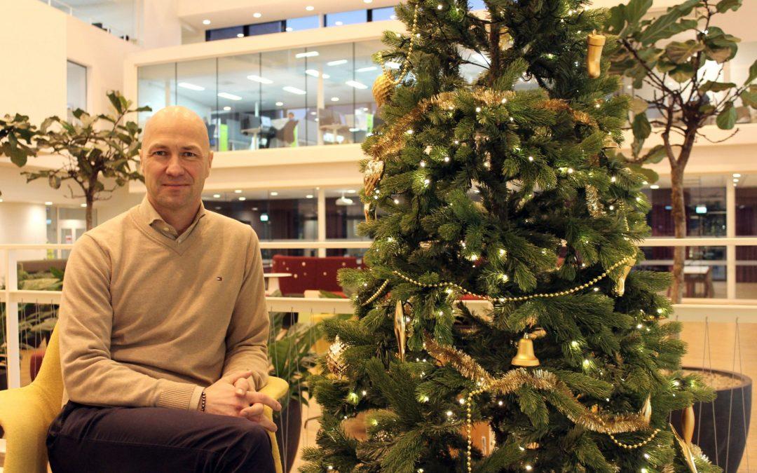 God jul og godt nytt arbeidsmiljø
